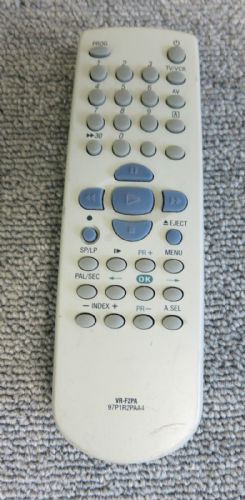 Bush VR-F2PA 97P1R2PAA0 For Finlux TV Video Remote Control  VCR906SIL VCR936N